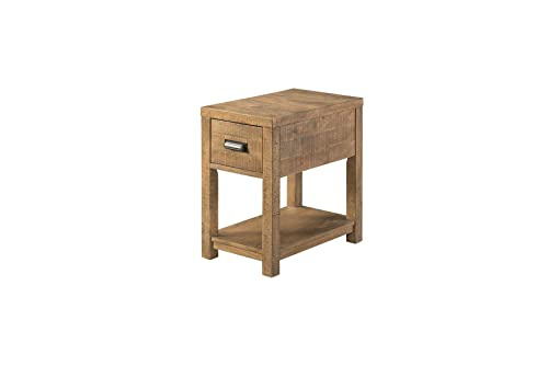 Lane Home Furnishings Chair Side Table, Chairside, brown