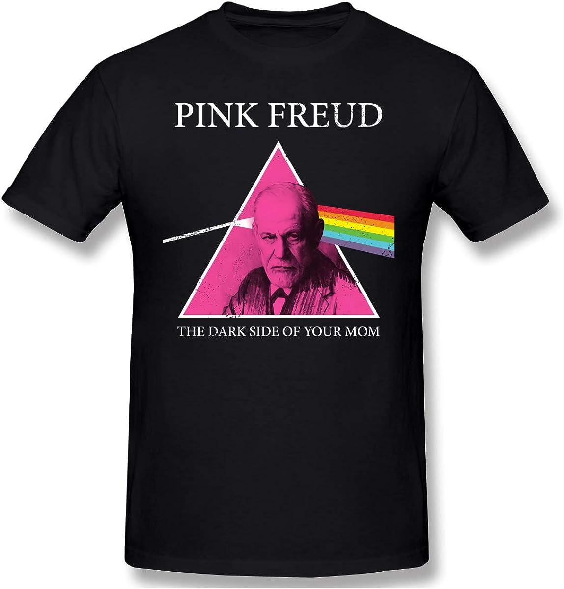 Freud Dark Side Of Your Mom Music Rock Band Parody Psycho Funny Black T-shirt