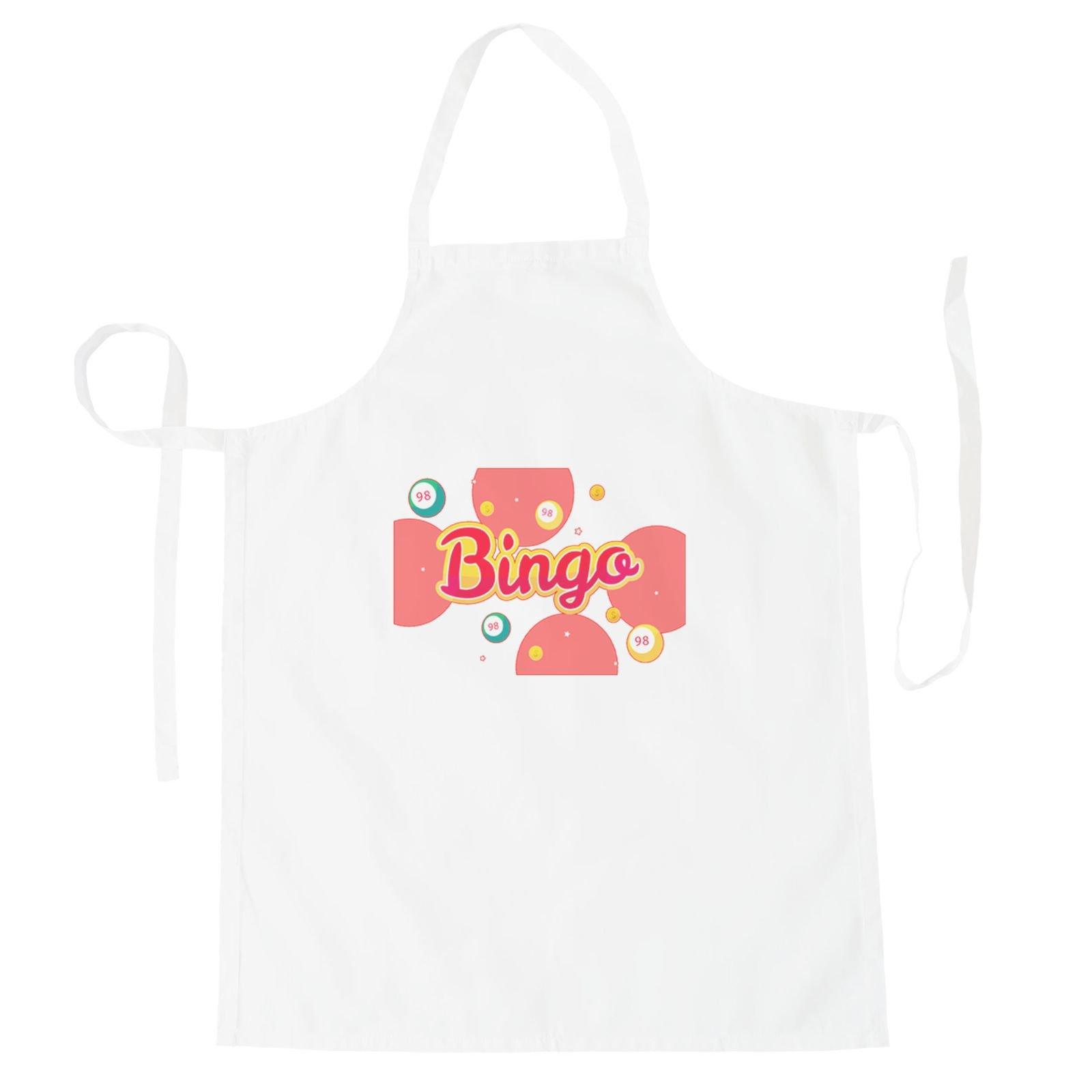 Bingo Lottery Game Apron r248b