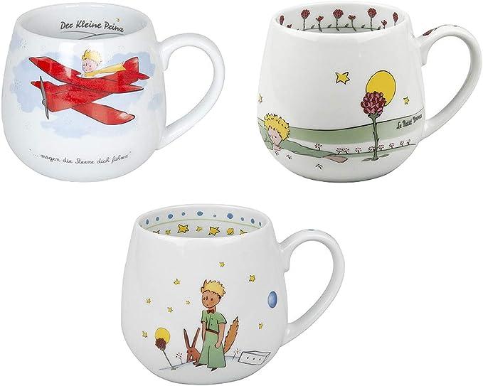 Könitz Tasse Der Kleine Prinz mit Flugzeug Kuschelbecher