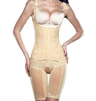 8694f3fe6 TININNA Body Faja Modeladora Reductora Full Body Shaper Sin Costuras para  Recuperación Post-Parto para Mujeres.-Desnudo L  Amazon.es  Hogar