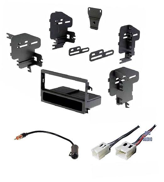 Amazon Car Stereo Dash Kit Wire Harness And Antenna Adapter Rhamazon: 1995 Nissan Pathfinder Stereo Wiring Harness Adapter At Gmaili.net