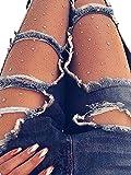 Rhinestone Fishnet Pantyhose Sexy Sparkle Crystal Stocking Stretch Tight Hosiery