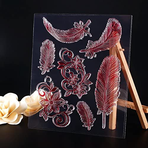 Qiman Joint en Silicone pour DIY Album Scrapbooking Photo Carte D/écor
