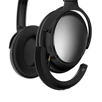 Adaptador inalámbrico Bluetooth Bose QuietComfort 25 Auriculares, MASCARRY Negro Bluetooth 4.1 Receptor Bose QC25 Auriculares