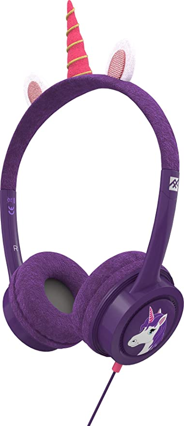 Ifrogz 304101847 Auricular Supraaural Diadema Rosa, Violeta - Auriculares Supraaural, Diadema, Alámbrico, 85 dB, 1,2 m, Rosa, Violeta