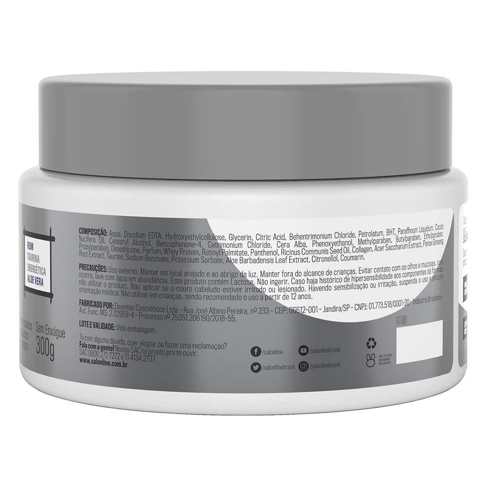 Amazon.com : Linha Tratamento (SOS Bomba de Vitaminas) Salon Line - Pomada Modeladora Homem Explosao de Modelagem 300 Gr - (Salon Line Treatment (SOS ...