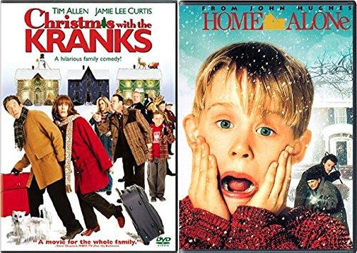 Krank Pack Macaulay Culkin Christmas Home Alone & Christmas with the Kranks DVD Holiday Bundle Modern Classics Double - Chicago Shopping Christmas