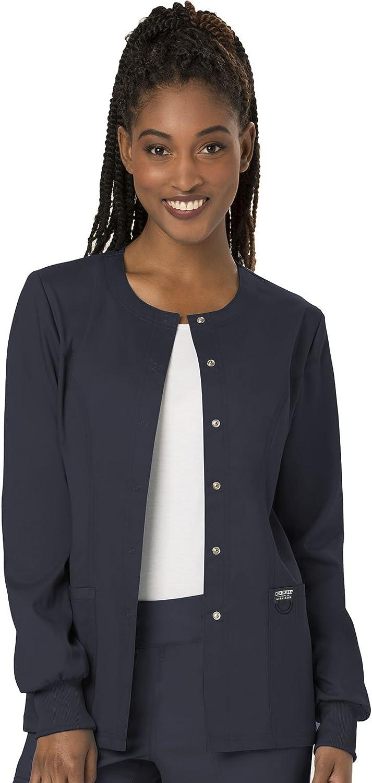 Cherokee Women's Snap Front Warm-up Jacket