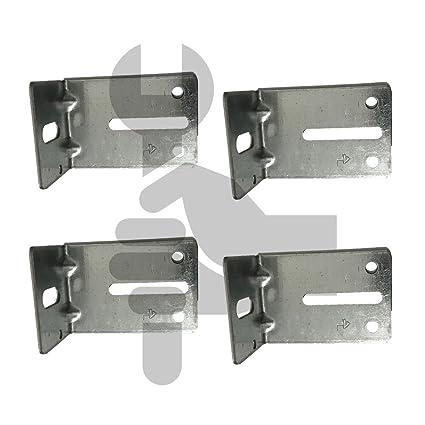 Amazon Garage Door Track Jamb Bracket Size J 6 Pk 4 Home