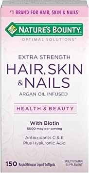 Nature S Bounty Optimal Solutions Hair Skin Nails Extra Strength