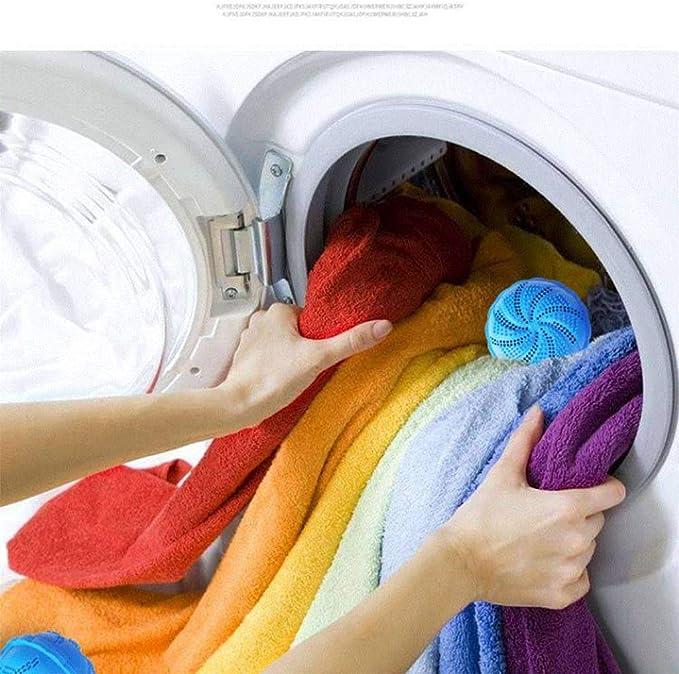 Alloeliey Bola de lavandería, Bola de lavandería Limpieza ...