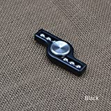 Fidget Hand Spinner with Ceramic Bearing Stress Reducing Educational Toy for Anxiety Stress Autism ADD OCD Boredom and Tension - Non-3D Printed - Cutting Edge 2017 Technology (Black)