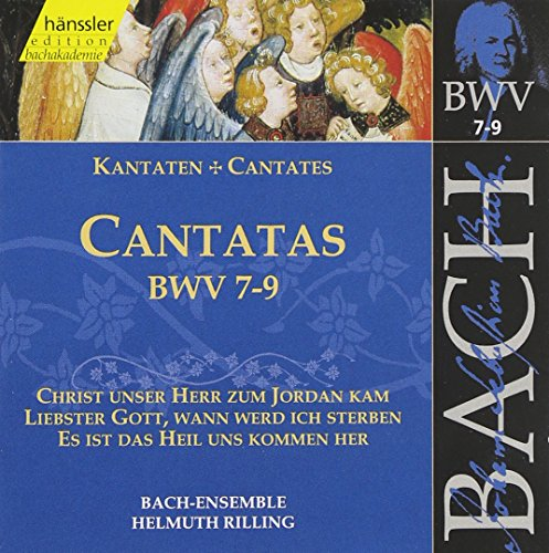 UPC 040888200321, Sacred Cantatas Bwv 7-9