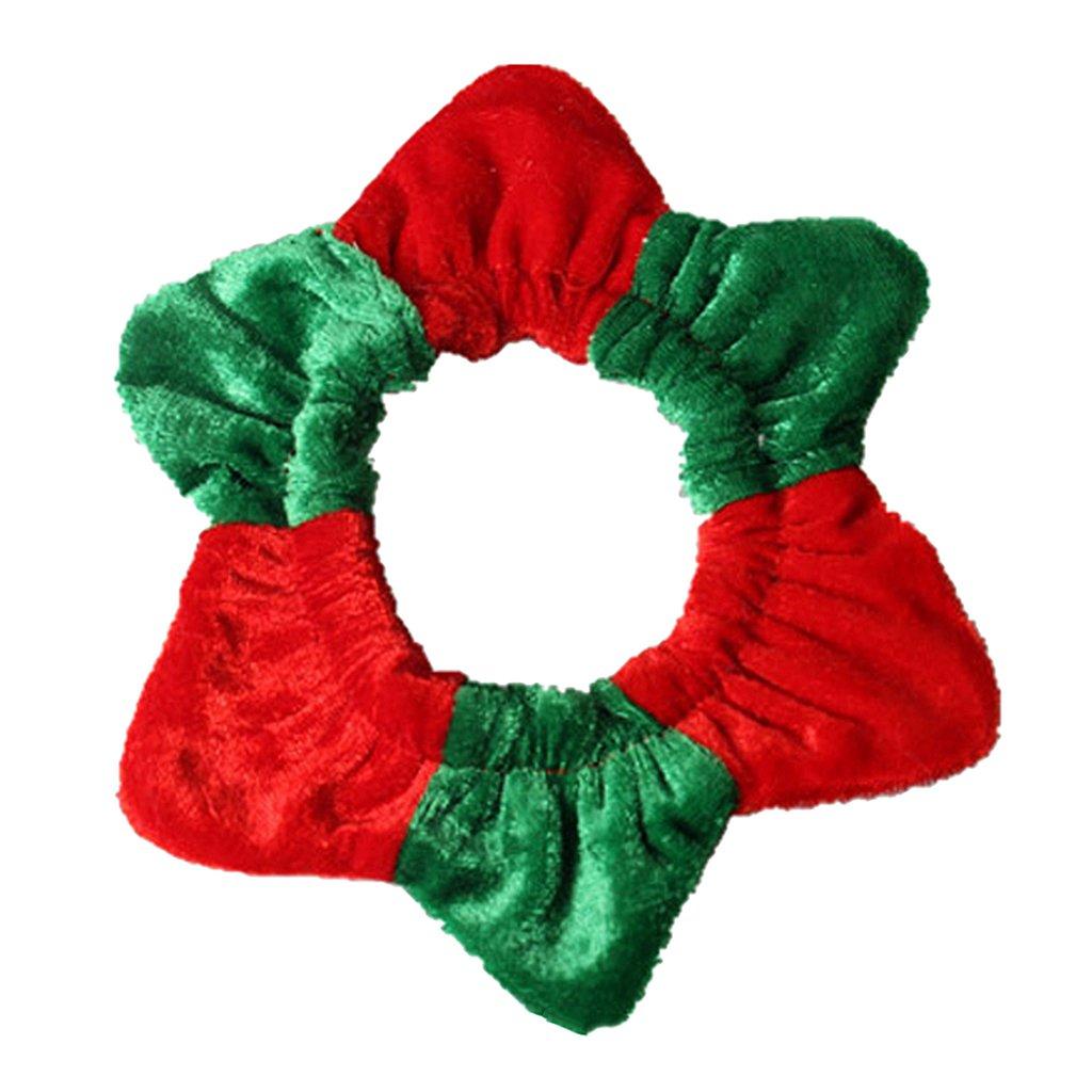 MagiDeal Collier de Chat en Polyester Décoration pour Chat Chiot Chien en Noël
