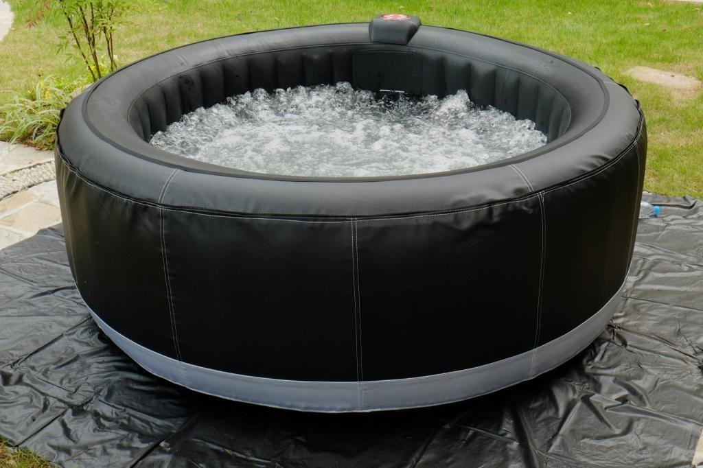 jacuzzi tub inflatable portable hot person spa mspa watch youtube