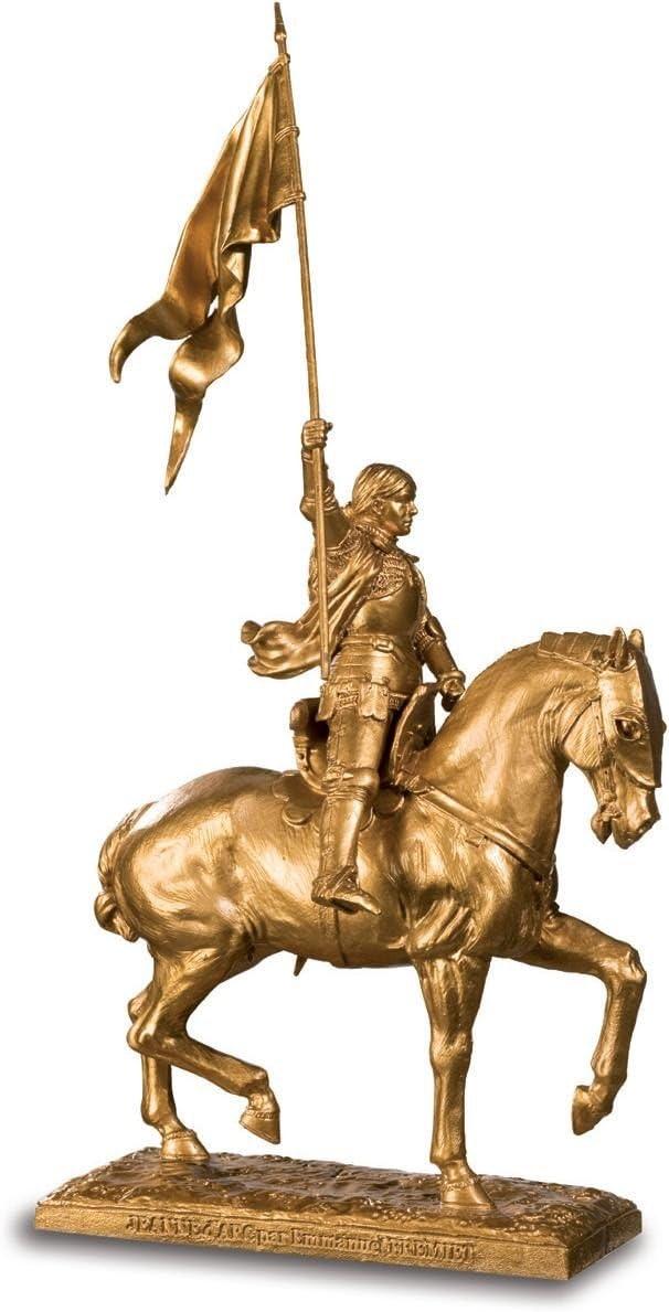 Estatua Jeanne d'Arc con Caballo de Emmanuel Frémiet