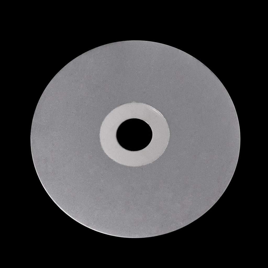 Mukoo 4 100mm 80-2000# Diamond Coated Flat Lap Wheel Lapidary Polishing Grinding Disc