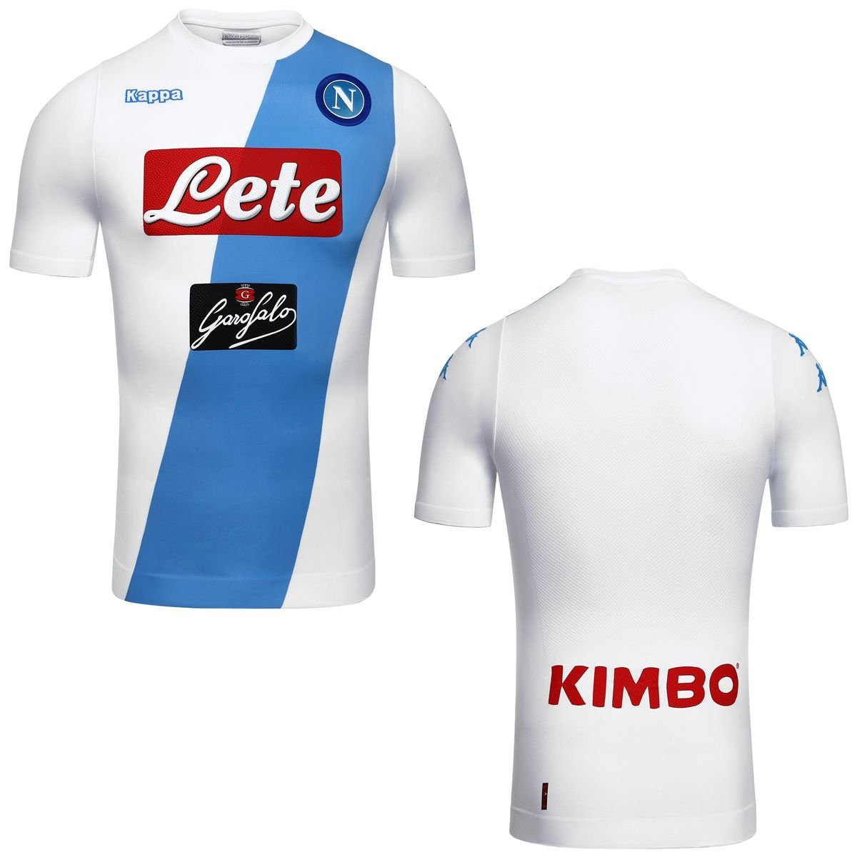 Kappa 2016-2017 Napoli Authentic Away Football Soccer T-Shirt Camiseta: Amazon.es: Deportes y aire libre