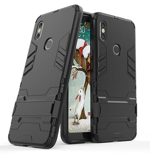 pretty nice 6f011 16b77 Xiaomi Redmi S2 Case, FoneExpert ShockProof Rugged Impact Armor Slim Hybrid  Kickstand Protective Cover Case For Xiaomi Redmi S2