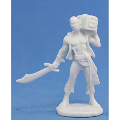 Reaper Hajad, Pirate (1) Miniature: Toys & Games