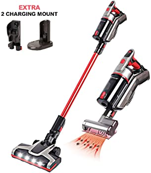Matelos Cordless Rechargeable 2-in-1 Stick and Handheld Vacuum