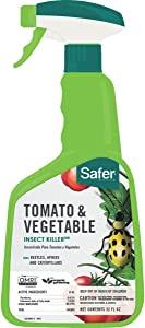 Safer Brand 5085-6 Tomato & Vegetable Insect Killer, 32 oz