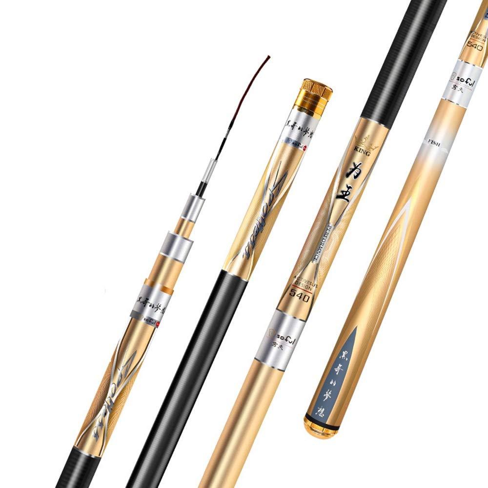 LHA フライロッド 淡水ゲーム釣り竿 - 理想的な釣りオプション - 3.6m、3.9m、4.5m、4.8m、5.4m 3.6m  B07P31XPY2