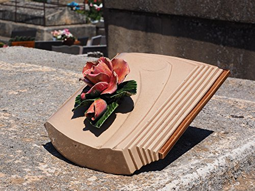 Book Poster Red (LAMINATED POSTER Rose Book Memorial Stone Grave Decoration Poster 24x16 Adhesive Decal)