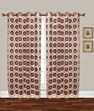 Cheap Simhomsen Vintage Lace Window Curtain Drapes Panel, Burgundy, 52 By 95 Inches, Set Of 2, Custom Order
