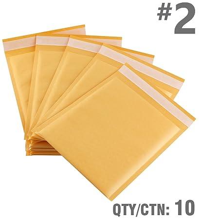 Amazon Com Exact Design 10 2 Kraft Bubble Padded Mailer Envelope