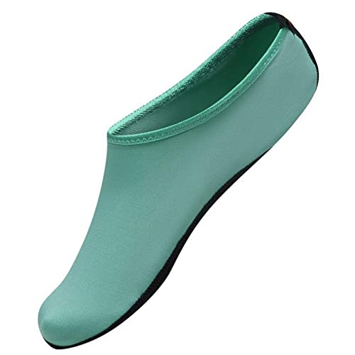 bb7d936ca8f Image Unavailable. Image not available for. Color  WAQIA Men Women Barefoot  Water Skin Shoes Aqua ...