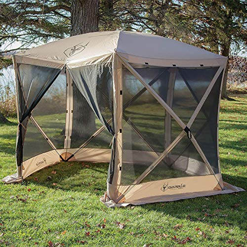 Gazelle Tents 25500 G5 Pop-Up Portable 5-Sided Hub Gazebo/Screen Tent, Easy Instant Set Up in 60 ()