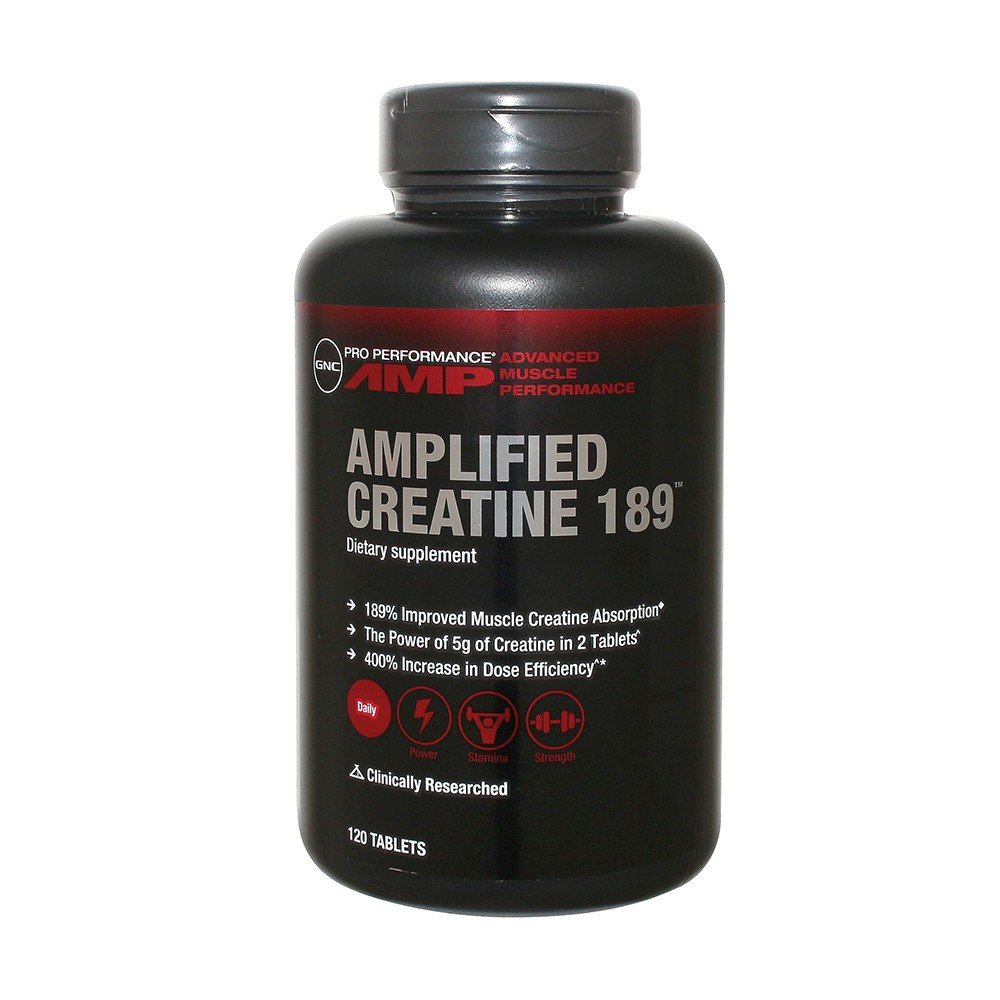 GNC AMP Amplified creatine 189 120 tablets by GNC (Image #1)