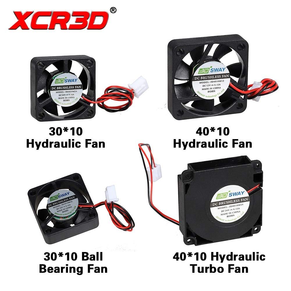 XCR3D - Ventilador de refrigeración para impresora 3D, turbo ...
