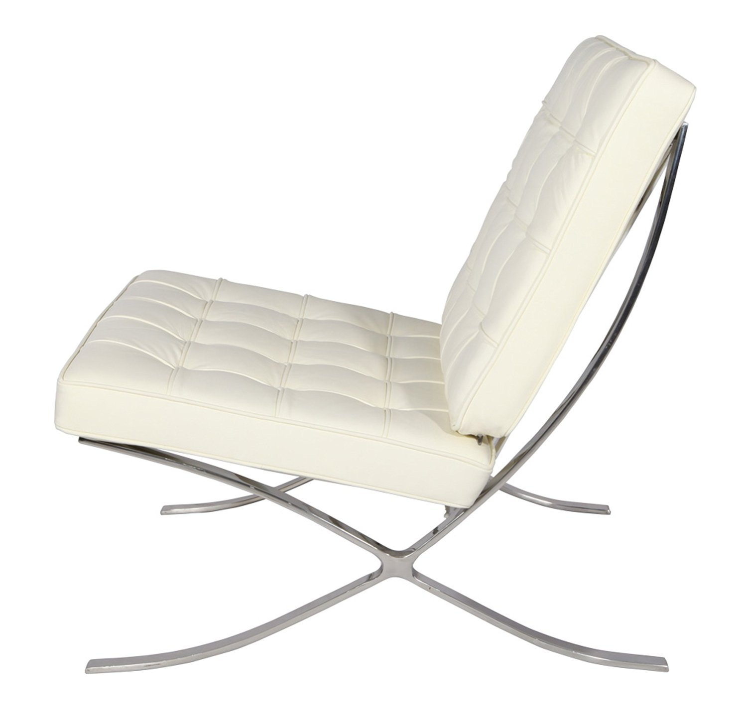 Amazon.com: Modern Souces - Pavilion Barcelona Style Chair ...