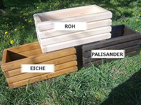 NEU Pflanzkasten aus Holz TOP Pflanzkübel Garten Terrasse fertig ...