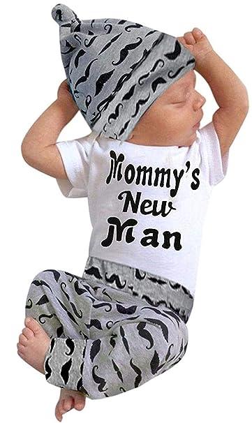 Amazon.com: Younger Star Recién Nacidos Boy/Girl 3pcs Set ...
