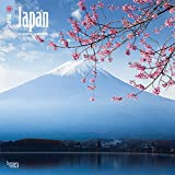 Japan 2018 12 x 12 Inch Monthly Square Wall Calendar, Scenic Travel Asia Cherry Blossoms Tokyo Kyoto Osaka