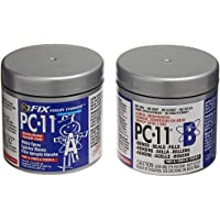 PC Products PC-11 2-Part Marine Grade and High Strength Epoxy, 1/2 -Pound Can, Off White