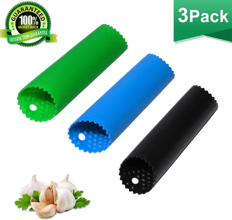 Silicone Garlic Clove Peeler Peel Stripper Tube Twist Easy Kitchen Tool Nice