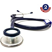 Indosurgicals Silvery Stethoscope (Blue Color Tube)