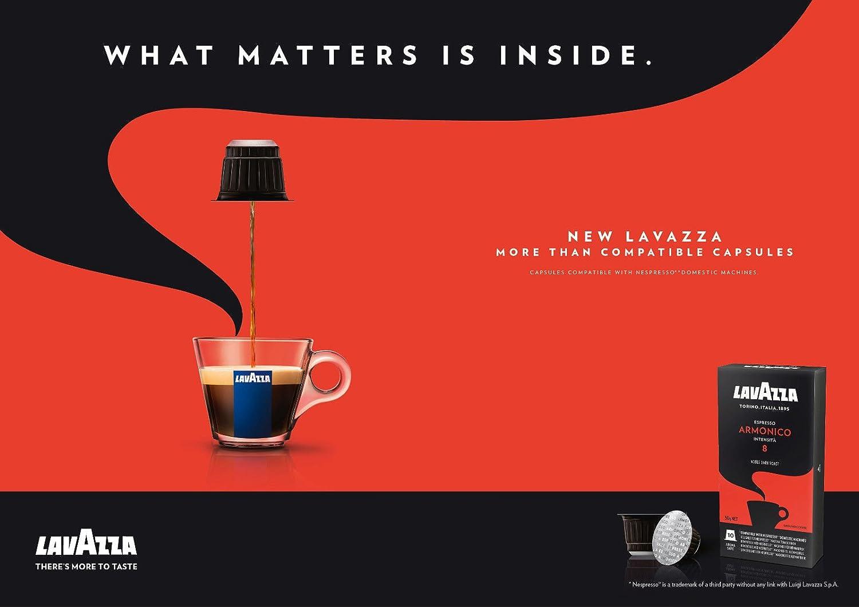 Lavazza Armonico Expresso 400 Capsules de Caf/é compatible avec machines /à capsules Nespresso