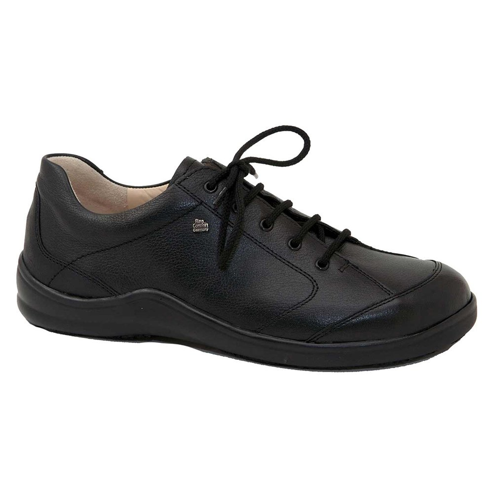 Finn Comfort Soft Cusco Womens Fashion Sneakers, Black Okapi, Size - 41 by Finn Comfort (Image #1)