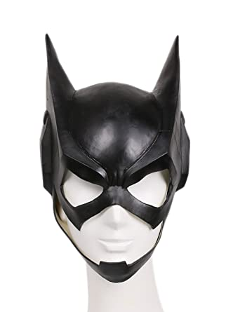 Xcoser Deluxe Newest Edition Catwoman Mask For Halloween Cosplay Costume Adult