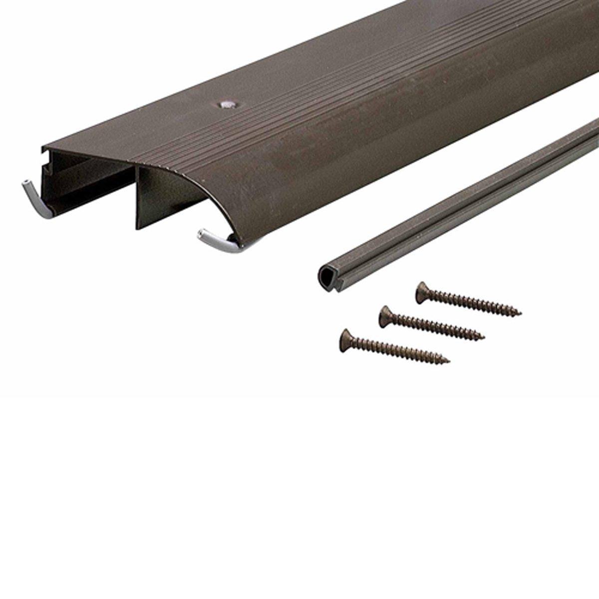 M-D Building Products 69703 TH153 Bumper Threshold, 1″ x 3-1/4″ x 36″, Bronze