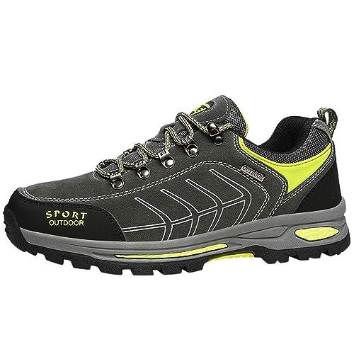Zapatillas Running Hombre Deportivas Hombre Ofertas Zapatos Planos para Hombres con Zapatos para Actividades Al Aire Libre Antideslizantes Y Escalada: ...