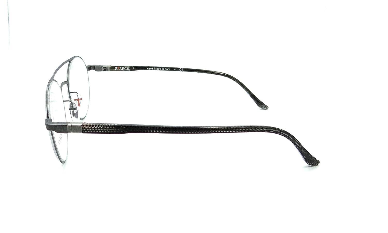 Starck Eyes Mikli Rx Eyeglasses Frames SH2029 0001 49x21 Matte Gunmetal Italy