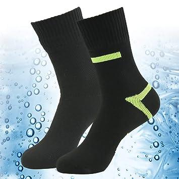 100% Impermeable Transpirable Calcetines, [SGS Certificado] Randy Sol Unisex Novedad Deporte esquí de Senderismo Calcetines 1 par: Amazon.es: Deportes y ...