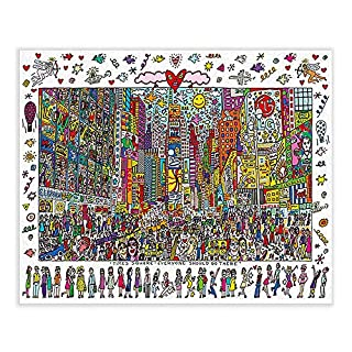 JUGROUPE 1000 Pieces Large Jigsaw Puzzles for Adults, 30×20 Inch Puzzles for Children and Teens Ages 12 and up, Difficult Puzzle Art for Men and Women (Plaza)